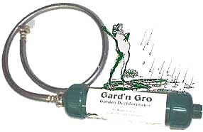 Gard'n Gro for Chlorine Removal in Garden Hose Water