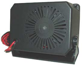 12-Volt Direct Hook Up Ceramic Heater  / Fan with Swivel Base