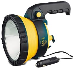 Creative Energy Technologies Inc: 12-Volt Spotlight, 1.2 Million Candle Power with Swivel Handle